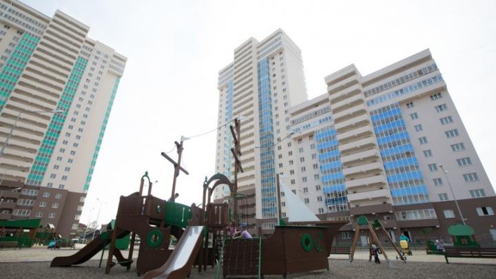 В новом доме вдоль улицы Шаумяна открыли продажи квартир