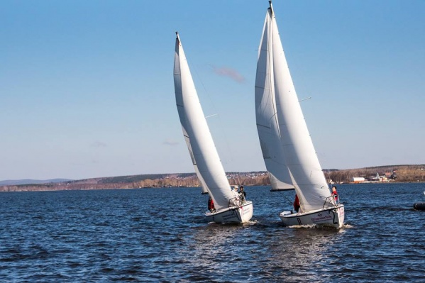 Соревнования по парусному спорту пройдут в августе