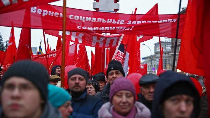 Какие дороги перекроют сегодня в Новосибирске из-за демонстрации (карта и график)