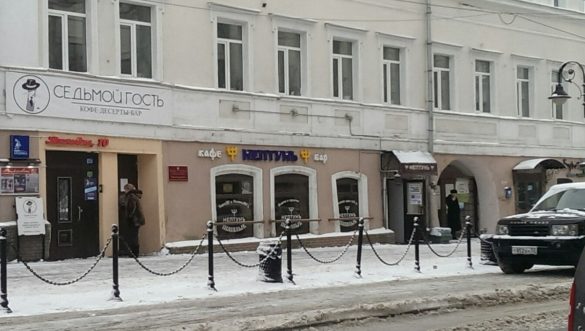 Конфликт разыгрался в кафе на Рождественской