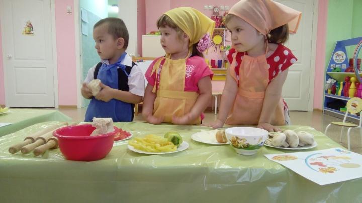 Кулинарную школу для детей открыли в детсаду «Солнечного»