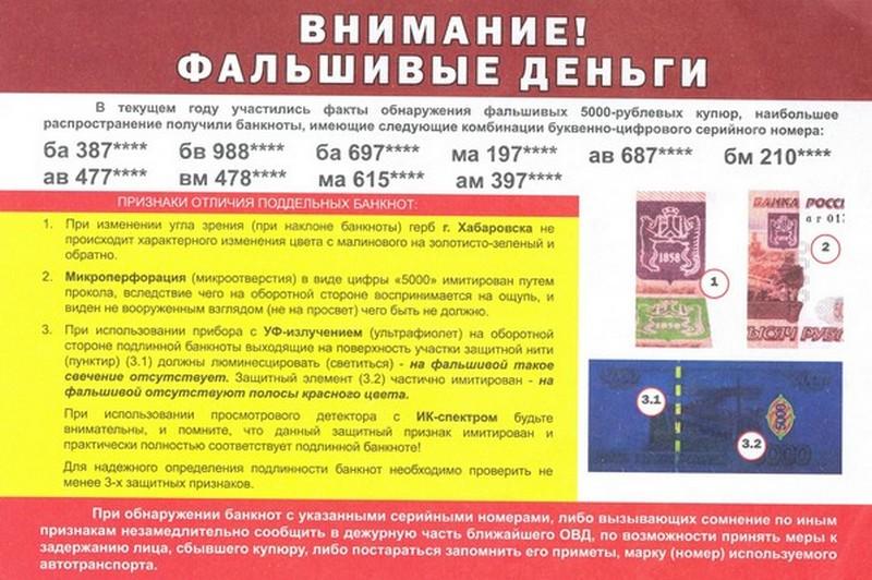 ВКрасноярске появились поддельные  деньги— милиция