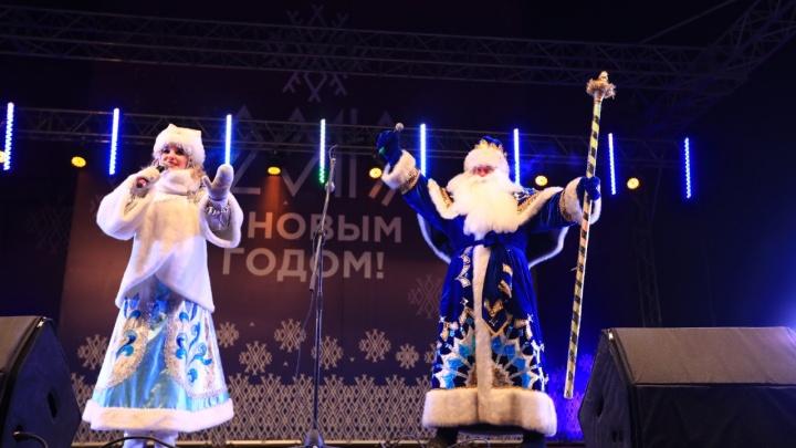 На Татышеве с фейерверком открылась главная городская ёлка. Показываем яркие кадры