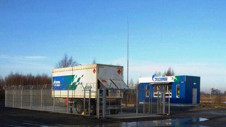 В Омске появились три площадки с передвижными газозаправщиками для пассажирских автобусов