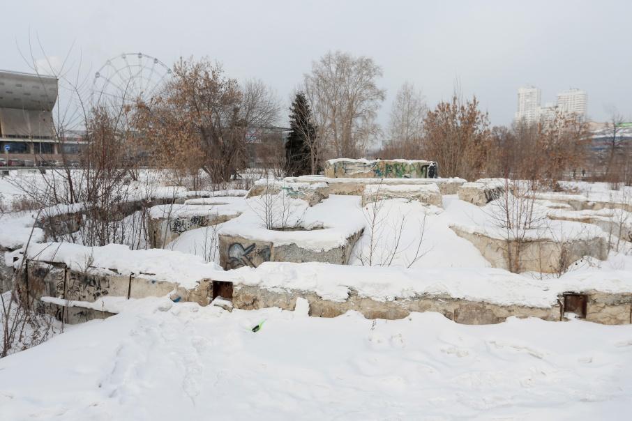 Благоустройством небольшой части «Сада камней» займётся «Мегаполис»