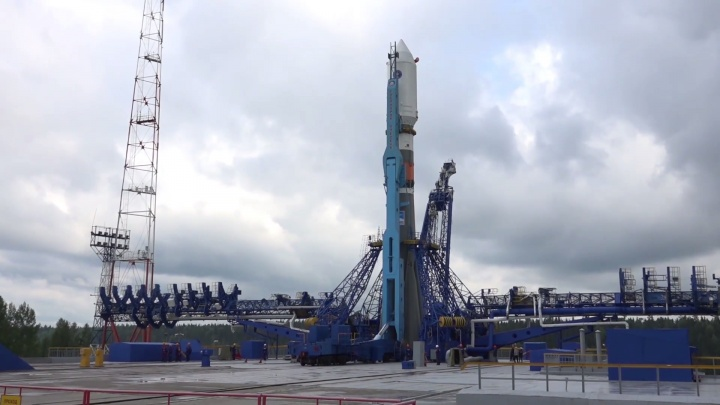 Ракета-носитель«Союз-2.1б» с космическим аппаратом стартовала с космодрома Плесецк