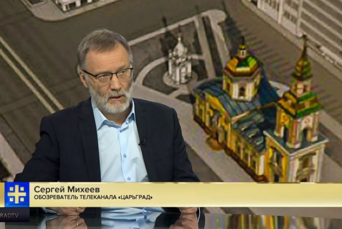 Сергей Михеев рассказал о своём отношении к противникам строительства храма и к Ельцину