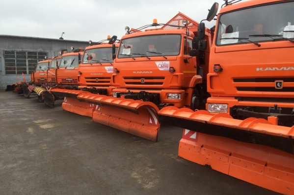 Уборочный парк Красноярска в этом году пополнился 19 новыми машинами