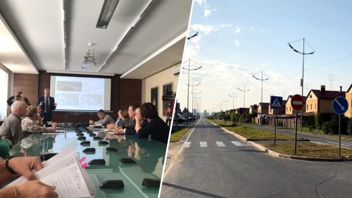 Тюменцы предложили чиновникам перенести будущую развязку на Червишевском тракте в сторону Кургана