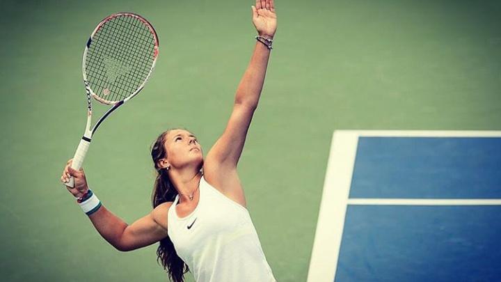Тольяттинская теннисистка Дарья Касаткина успешно стартовала на турнире Moscow River Cup