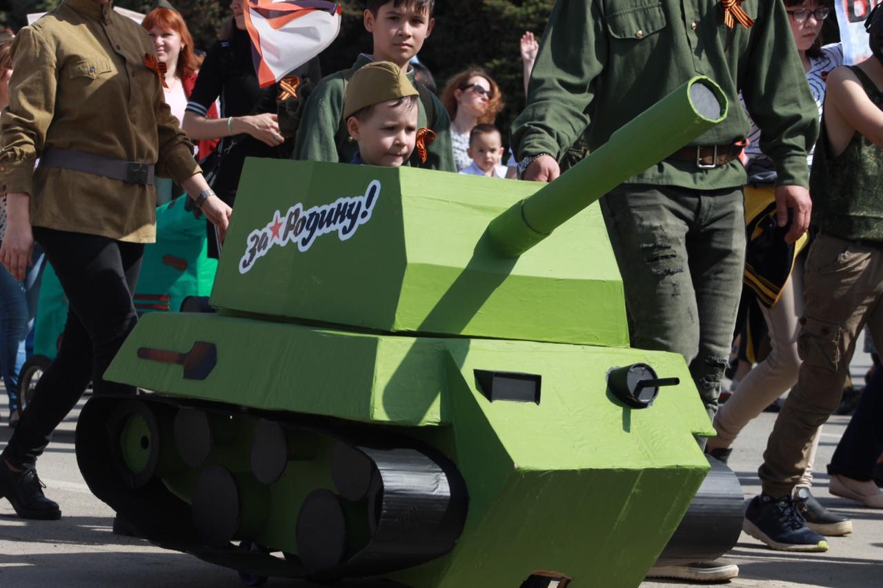 И даже танки были!