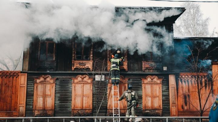 Сгоревшую мастерскую реставратора Шитова восстановят: на проект выделено 5,8 миллиона