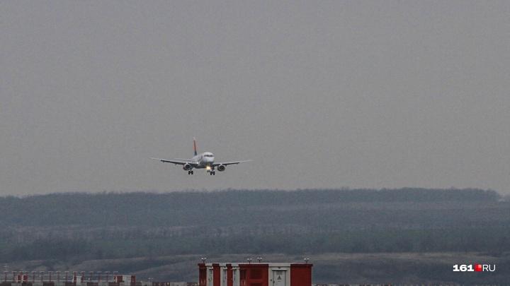 Летом уменьшится количество авиарейсов из Ростова в Екатеринбург