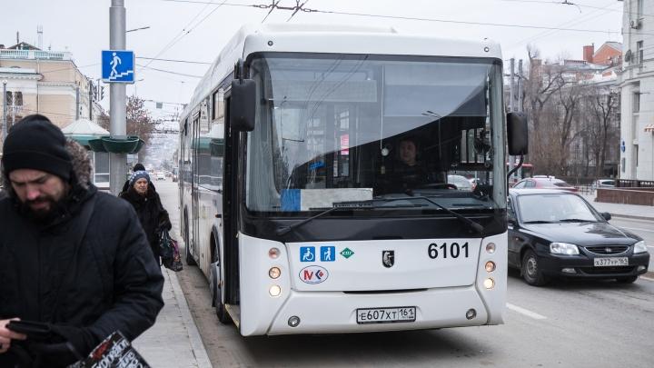 С понедельника в микрорайон Суворовский в Ростове поедут большие автобусы