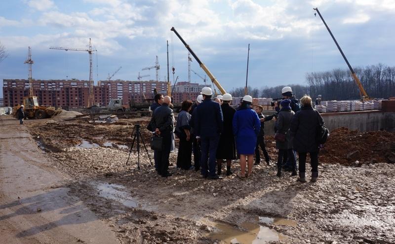 В «Новой Самаре» начали возводить стены будущей школы