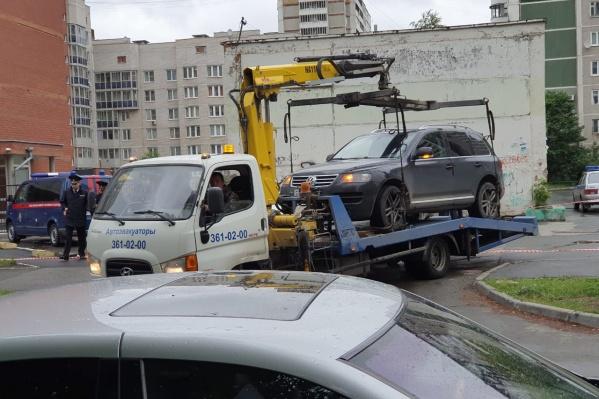 На Volkswagen были номера Северной Осетии
