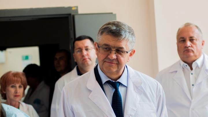 Делегация Минздрава РФ приехала с проверкой в новосибирский онкодиспансер