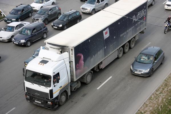 Фурам запрещают въезд в границы Новосибирска до конца мая