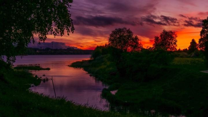 Небо горит: 10 восхитительных фото сегодняшнего заката