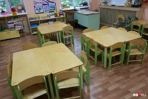 Группы одного из детских садов были рассчитаны только на кратковременное пребывание детей, но работали весь день