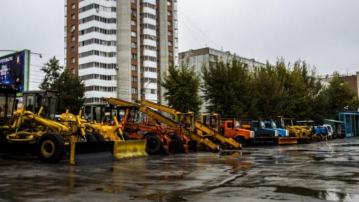 Щётки за полмиллиарда: мэрия Новосибирска купит новые машины для уборки снега