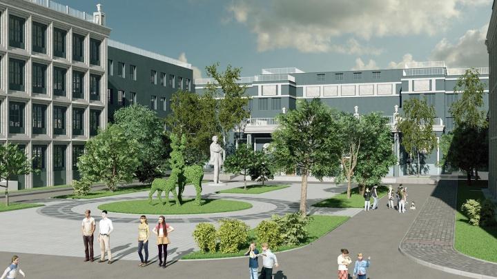 Власти разрешили снести переполненную гимназию в Академгородке — вместо неё построят новую