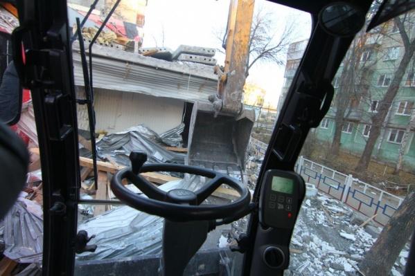 Снести самострой в Самаре должны до конца 2018 года