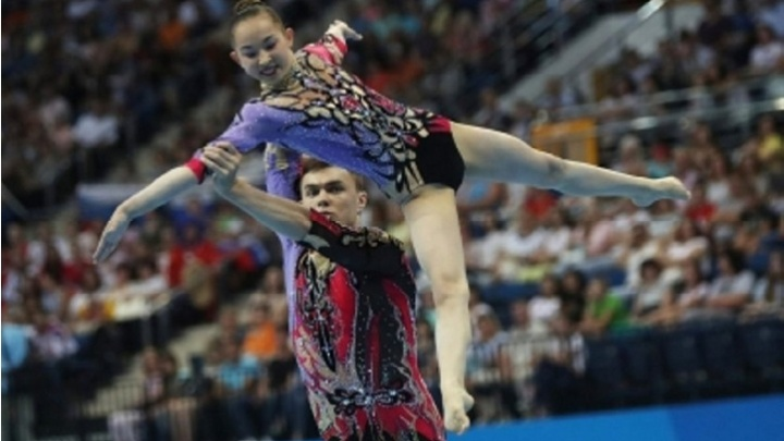 Курганская акробатка стала двукратной чемпионкой II Европейских игр