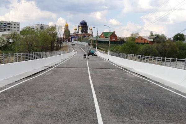 Жители Городища ждали открытия моста полтора года — с октября 2017-го