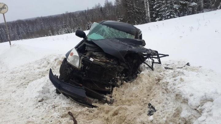 На трассе Киров — Пермь в ДТП погиб водитель Land Cruiser