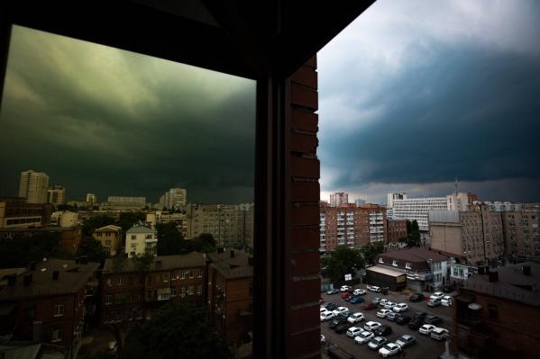 Выходные в Ростове будут пасмурными и дождливыми