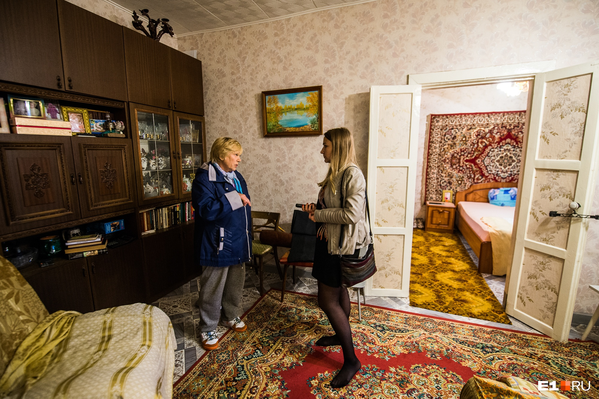 Лариса Сергеевна живёт здесь уже 35 лет