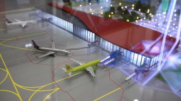 В чистом поле: новое здание челябинского аэропорта начнут строить летом