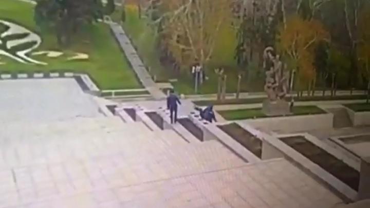 В Волгограде ищут очевидцев трагедии на Мамаевом кургане
