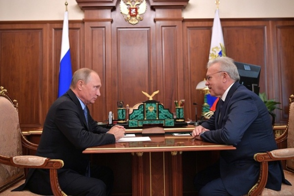 Путин назначил Усса врио губернатора края 29 сентября