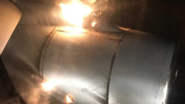 В Уфе наградили летчиков, которые посадили самолет с горящим двигателем
