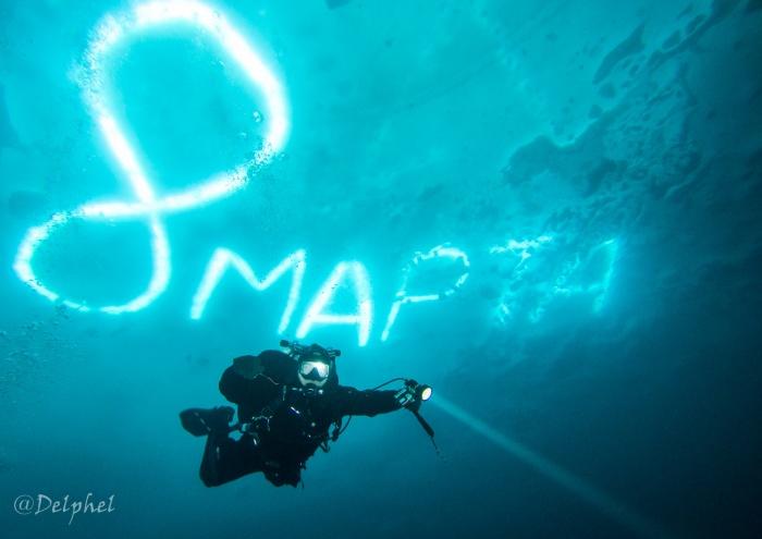 Подводная «открытка» получилась невероятно красивой