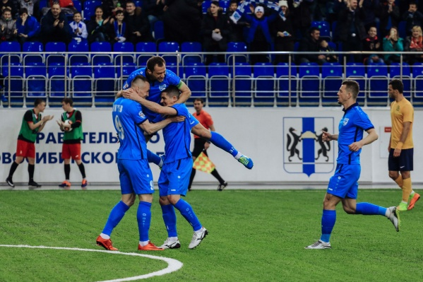 Следующую встречу футбольная «Сибирь» проведёт15 апреля с «Динамо СПб» в Санкт-Петербурге