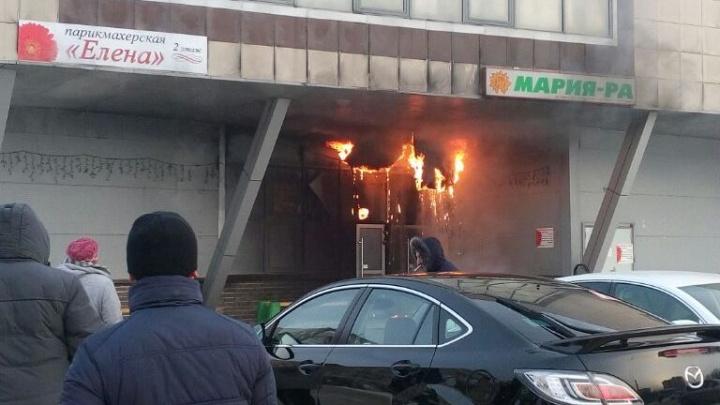 Возле ДК «Строитель» загорелась«Мария-Ра»