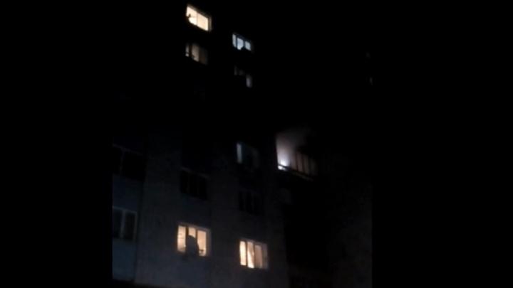 В МЧС сообщили причину пожара в общежитии на улице Жолудева