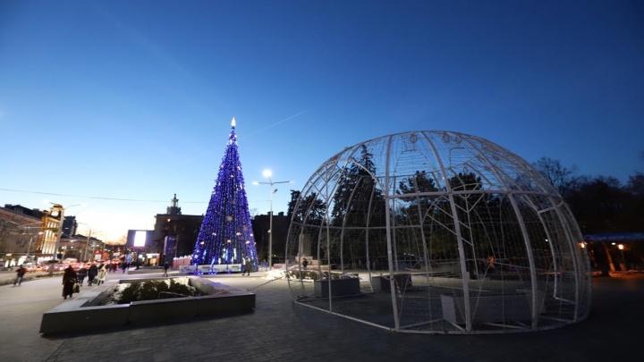 Прошлогодняя сказка: в Ростове завалили задачу Кушнарева нарядить город к Новому году до 1 декабря