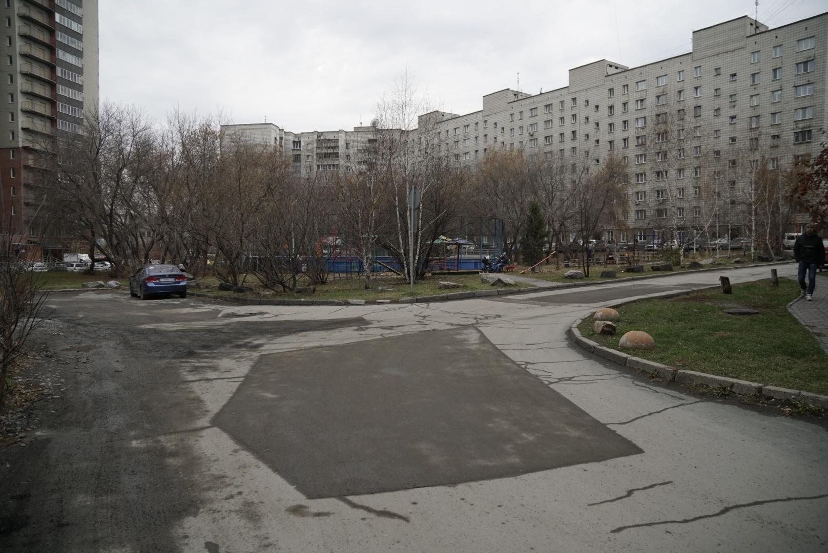 В мэрии рассказали, что подрядчиком работ былоООО «СибАзСтрой»