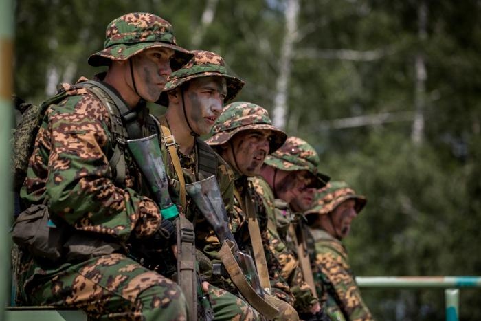 В учениях приняли участие 60 новосибирских спецназовцев