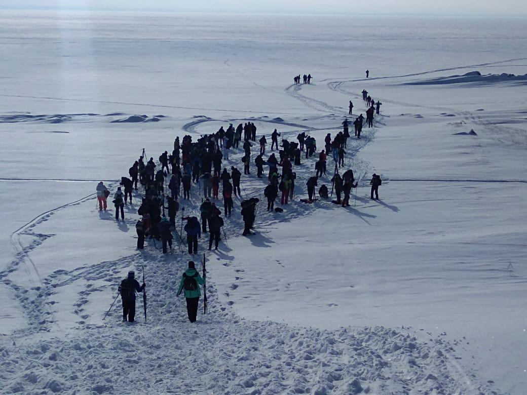 Лыжники стартовали утром 1 марта в селе Ленинском под Новосибирском