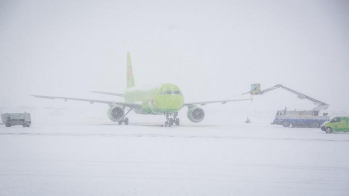 Самолёт из Новосибирска приземлился в Челябинске из-за плохой погоды в Екатеринбурге