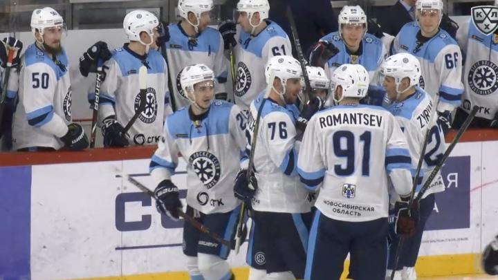 Хоккей: «Сибирь» уступила уральскому«Автомобилисту»