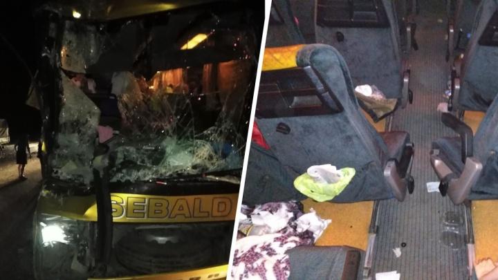 Автобус с пермскими туристами попал в ДТП по дороге в Геленджик. Что известно об аварии
