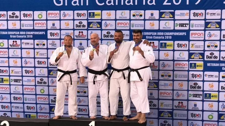 Младший инспектор свердловской колонии стал серебряным призером чемпионата Европы — 2019 по дзюдо