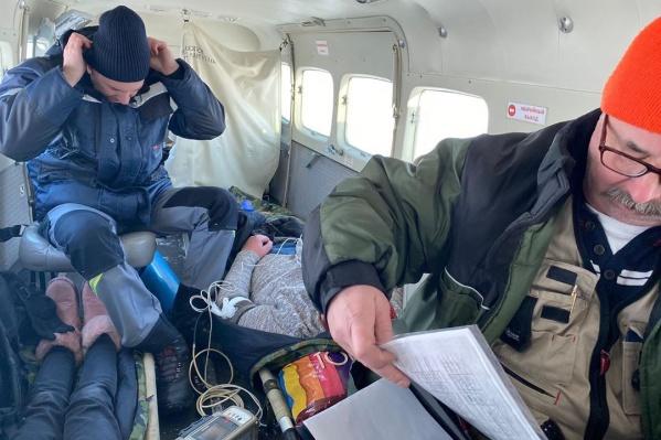 Операция и транспортировка были проведены по ОМС