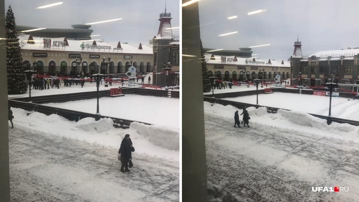 В Уфе эвакуировали посетителей из торгового центра «Гостиный двор»